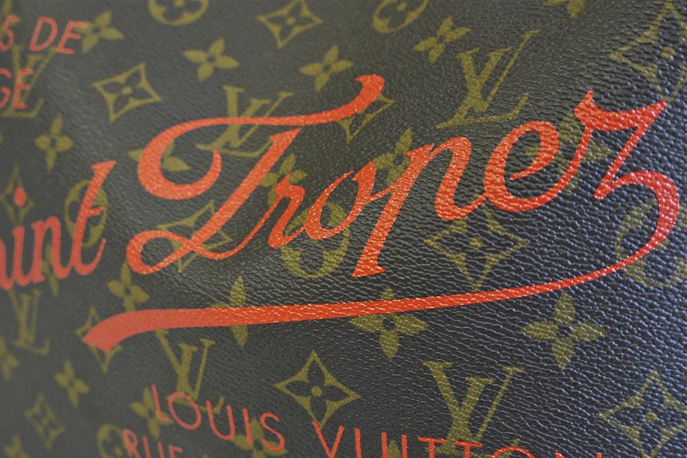 Detalj rada za modni brend Louis Vuitton